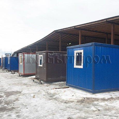 Блок-контейнеры, изготовленные в ООО СК Бытпром (Москва)