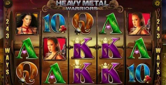Игровой автомат онлайн Heavy Metal Warriors