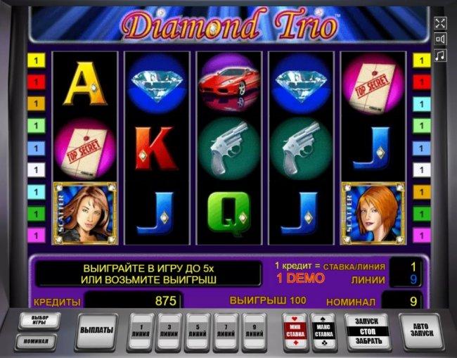 Автомат игровой Diamond Trio